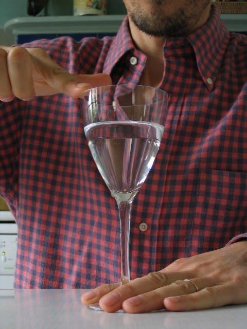verre cristal son